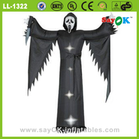 black inflatable halloween wedding dress costume manufacturers china