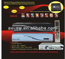 support 8psk s920 Full hd satellite receiver