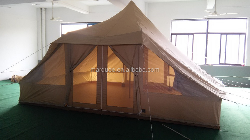Leshade 5x4M Touareg safari tent cotton canvas water proof tent