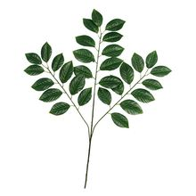 Green plant OEM quality exquisite waterpoof artificial leaves for decorate