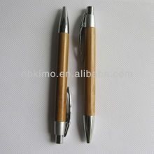 2014 Hot Sale high Quality Natural Wooden Pen, Eco Friendly Wooden Ball Pen for Gift PP8400