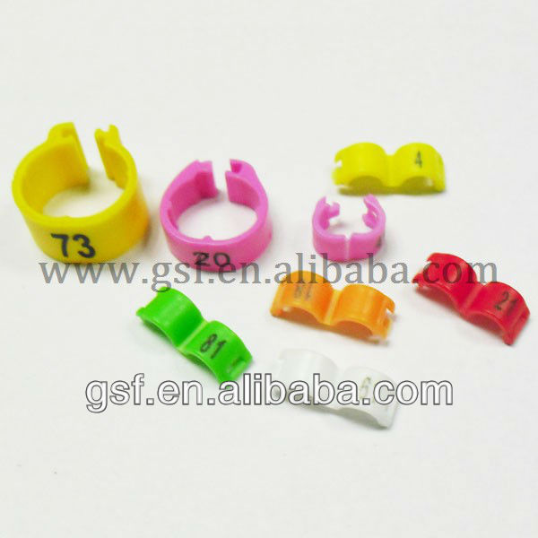 Alibaba China bird and finch leg bands with CE certificate