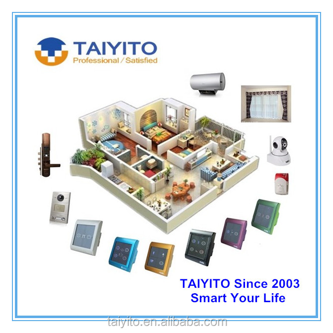 national standard taiyito smart home devices knx knx automation system smart home wifi knx buy. Black Bedroom Furniture Sets. Home Design Ideas