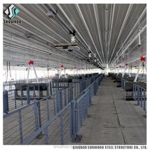 Light Steel Frame Sheds Galvanized Pig Poultry Farming House