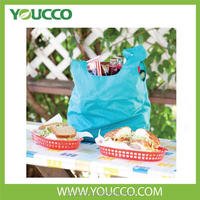Colorful eco supermarket reuseable shopping bag