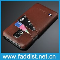 Leather case for samsung galaxy s5 mobile phone leather case