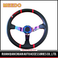 Promotional top quality pink steering wheel