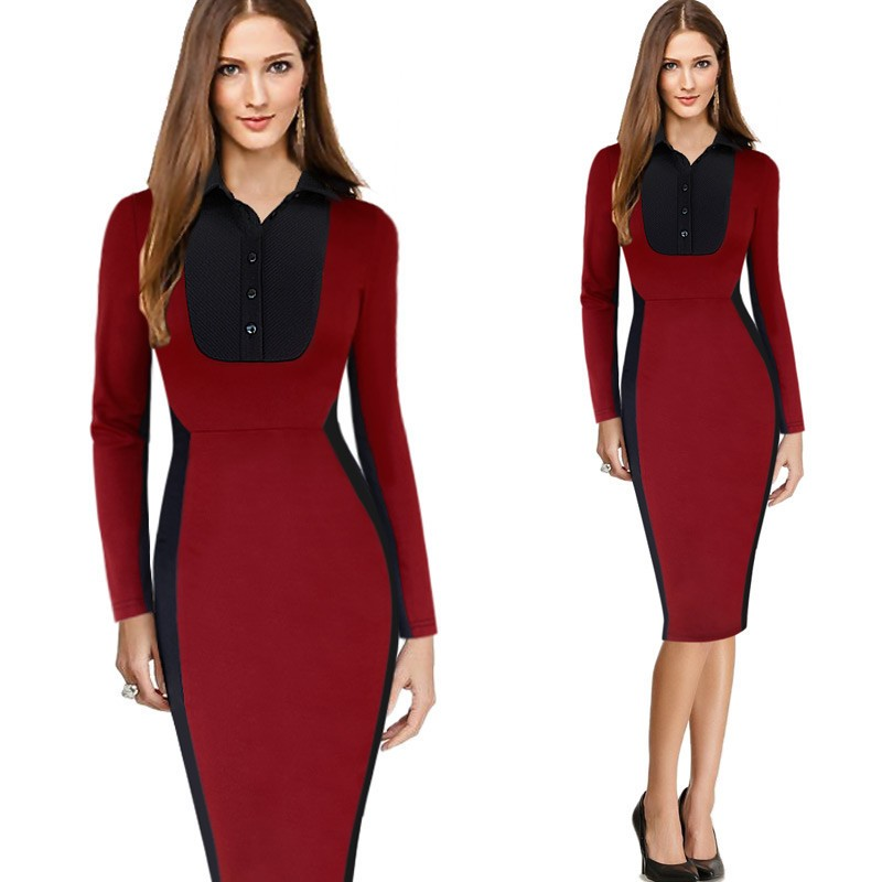 2018 New Designs Pictures Semi Formal Dresses Ladies Official