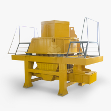 Silica Sand Glass VSI sand making machine for sand stone production line