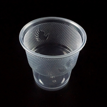 Alibaba Wholesale custom printed transparent measuring airline PP disposable plastic cups
