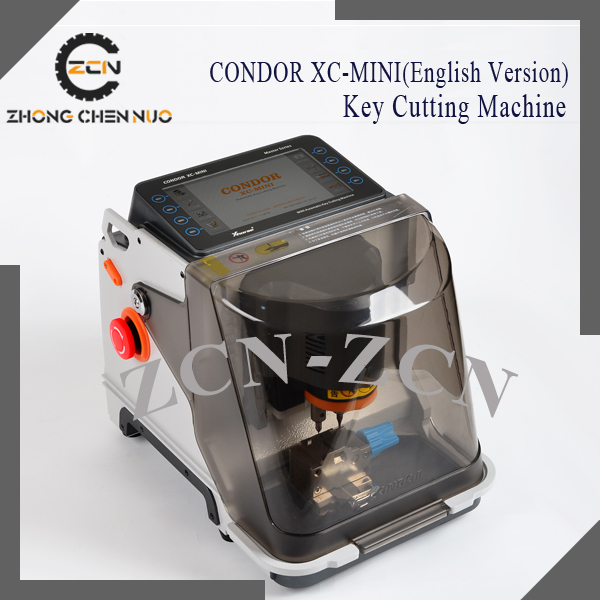2015 Hot sale+ new arrivial CONDOR XC-MINI Master Series Automatic XC-MINI <strong>007</strong> Key Cutting Machine