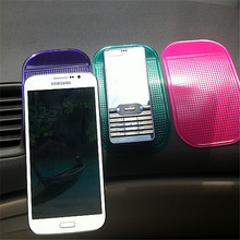 PU gel customized stickiness car mobile holder non skid anti slip pads