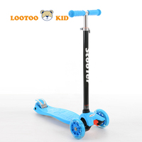 China factory wholesale cheap price newest mini 3 PU wheel scooter for kids
