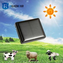 Latest hot sell cow GPS tracker with solar panel charging WIFI fence timing switch SOS two way talk for sheep camel horse goat