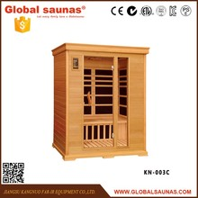 2016 popular outdoor wooden sauna room with tourmaline