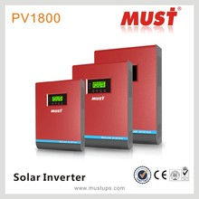 High frequency 4KVA pure sine wave AC/solar priority inverter with controller