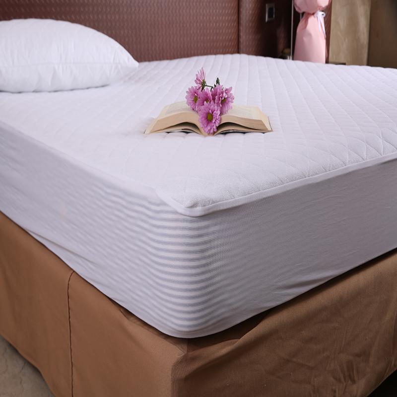 Premium Cotton Terry Mattress Encasement with Zipper For Hotel - Jozy Mattress | Jozy.net
