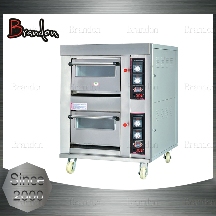 Brandon top quality free standing pie baking gas oven for sale