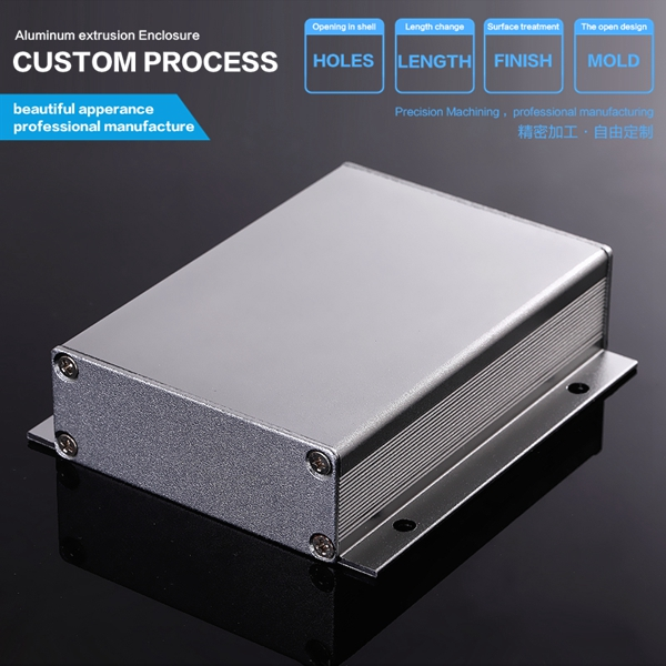 80*23.8-D China electronics anodized extruded waterproof Aluminum Electronic Enclosure