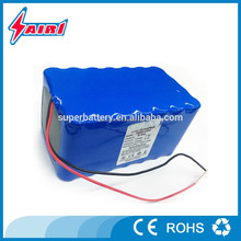 Customized 12v 30ah lithium battery with 18650 li-ion batteries for LED Panel/Solar system