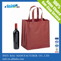 Alibaba express promotion product divided wine tote bag
