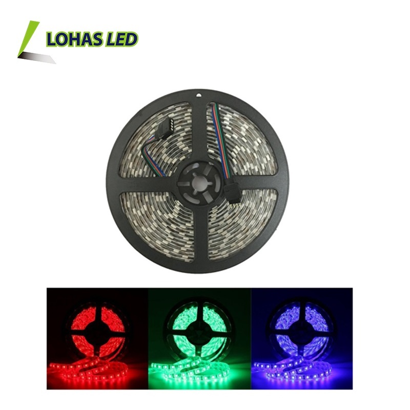 2016 RGB RGBW ip65 waterproof 12v 14.4w 60leds/Meter smd 5050 flashing led strip light rgb rechargeable wireless led strip light