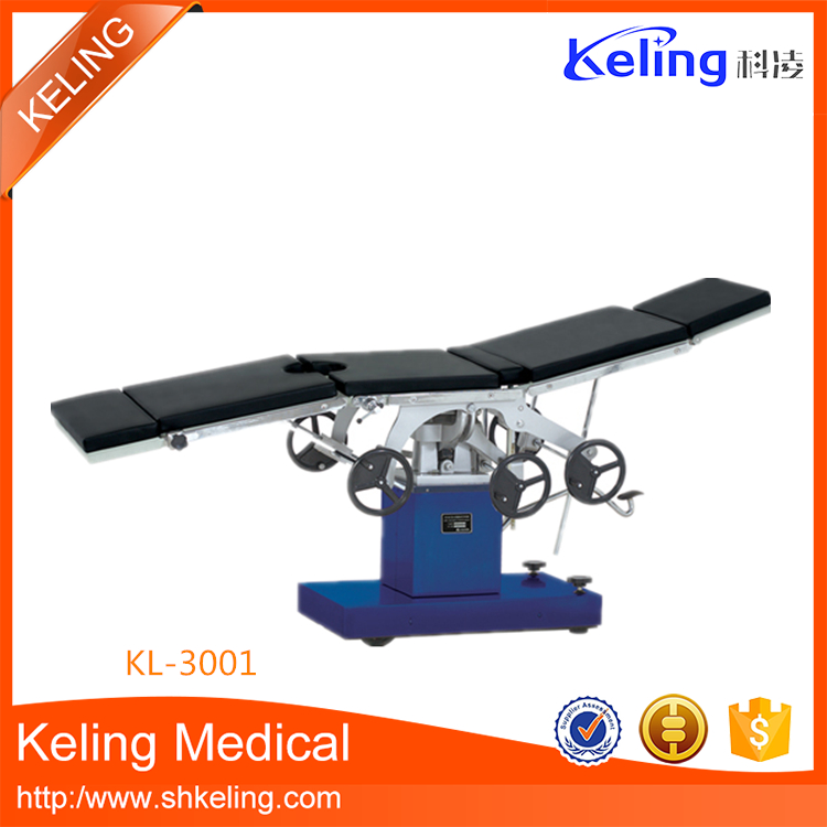 Reliable quality competitive theatre manual dental operation table