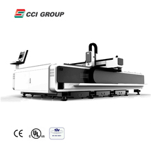 Jinan galvanized pipe fiber laser cutting ceramics machine 1500mm