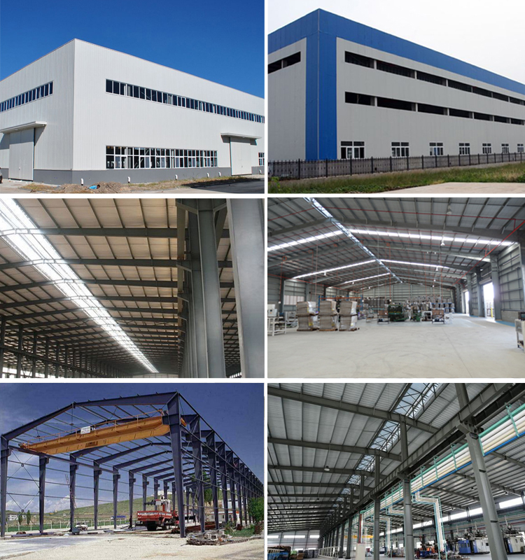 Low Cost Prefab Light Steel Structure Customized Industrial Workshop
