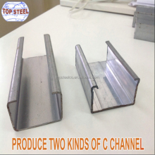 C channel steel price q235 steel channel unistrut c channel