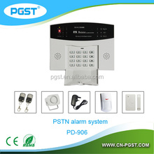 Fortress Home Security Wireless PSTN intruder Home Alarm System Kit With CE,RoHS,FCC