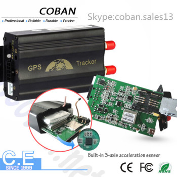 gsm gps tracker tk103 custom firmware with google maps on Android IOS APP gps vehicle tracker