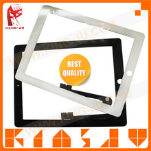 King-Ju Hot sale with professional test for ipad4 glass screen, touch lcd display for ipad 4, for ipad 4 screen repair