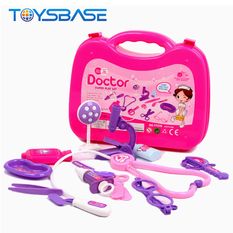 Who Is Doctor Game Toy Children Pretend Play Doctor Set