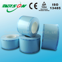 Medical device packing sterilization roll bags