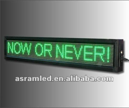 LED desk message sign ,Electronic Message Display ,led running message display led car window message sign