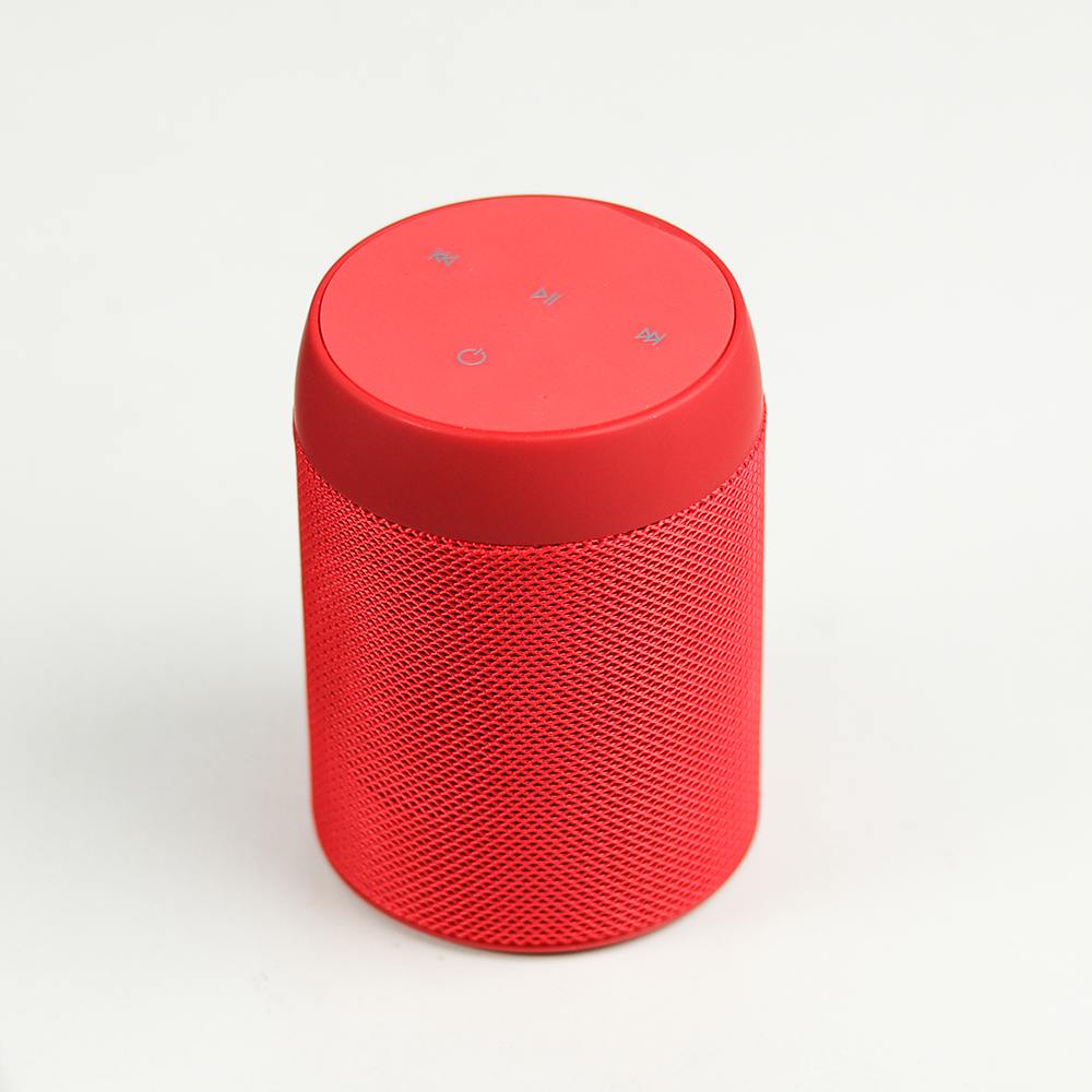 Portable fabric materials 5w wireless <strong>speaker</strong> D11 wireless high quality TWS party <strong>speaker</strong>