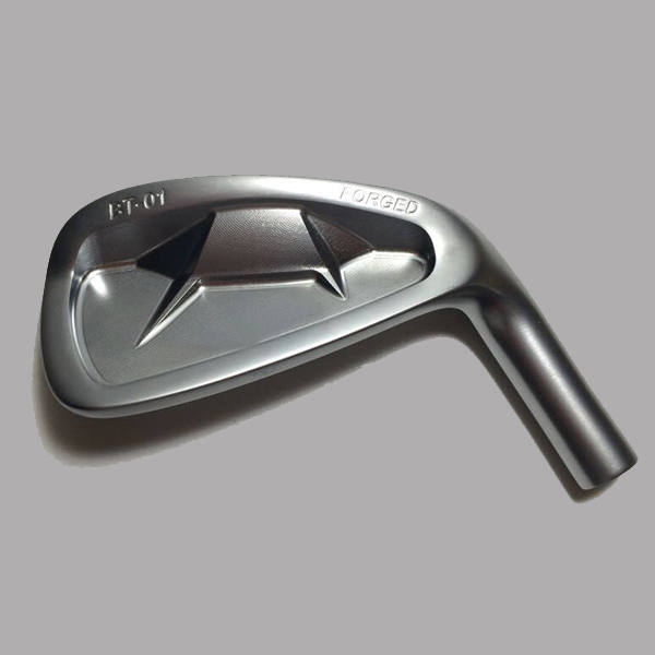 Same shaft length golf iron club forged iron