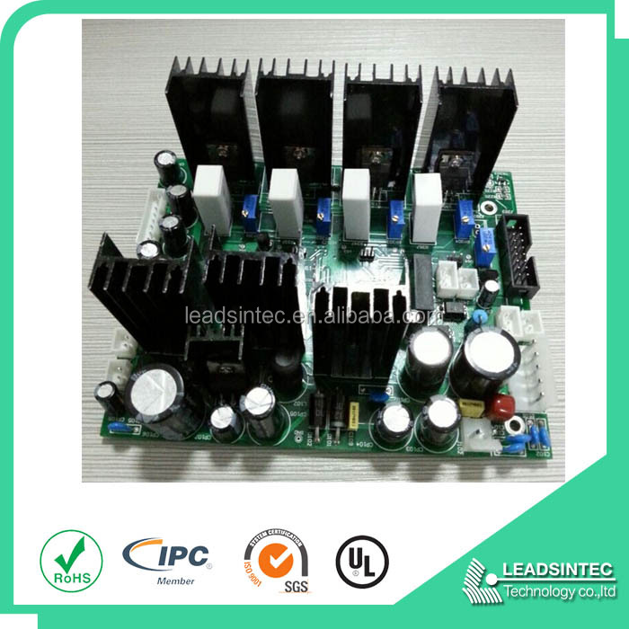 shenzhen largest electronic/medicla/ industrial/power control pcba copy board manufacturer leadsintec surge suppressor pcba ems