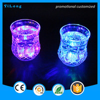 LED lighting flash drinkware cup, Plastic Drinkware led flashing printing led cup