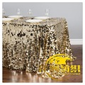 Wholesale luxury 6FT wedding party sequin table cloth table runner