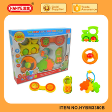HY3350B Good Quality Pretty Baby Rattle Set for Kid Toys