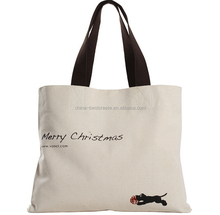 100% Cotton Canvas Tote Bags with custom logo and color from china factory
