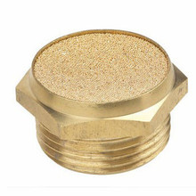 Brass Type Air Silencer Filters