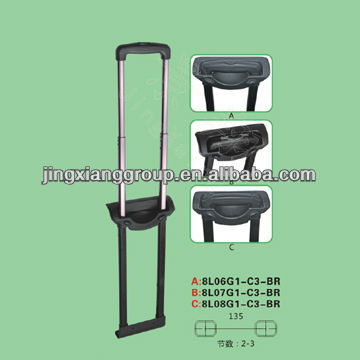 Telescopic Suitcase Handles Parts/ Adjustable Luggage Handles Best Selling