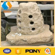 hand carving landscaping decorative stone fountain