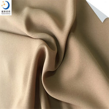 China Supplier 100% Polyester 95GSM Width and Plain Style Moss Crepe Fabric