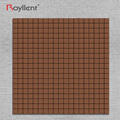 Brownish Red Mosaic tile Modern Kitchen Bathroom Interior Home Decoration Design Building Materials China Supplier RM201635