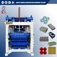 Automatic Cement Brick Making Machine Used To Make Wall Block Paving Block And Curbstone