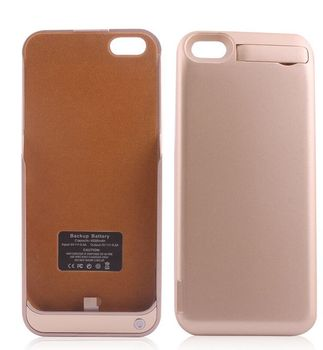 Portable Backup Battery Power Bank Case Battery Cover For Iphone